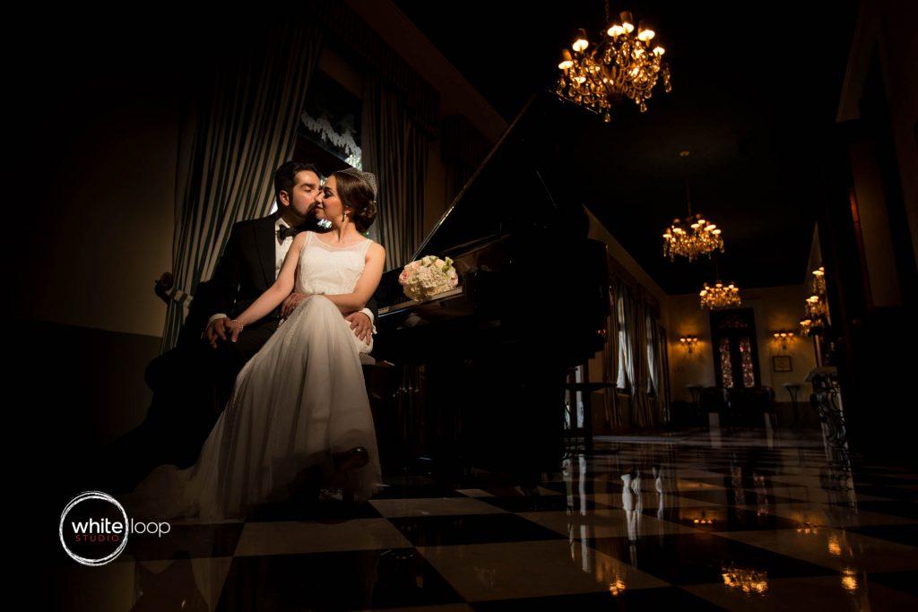 Monica and Guillermo, before the wedding, Casa de los Abanicos, Guadalajara