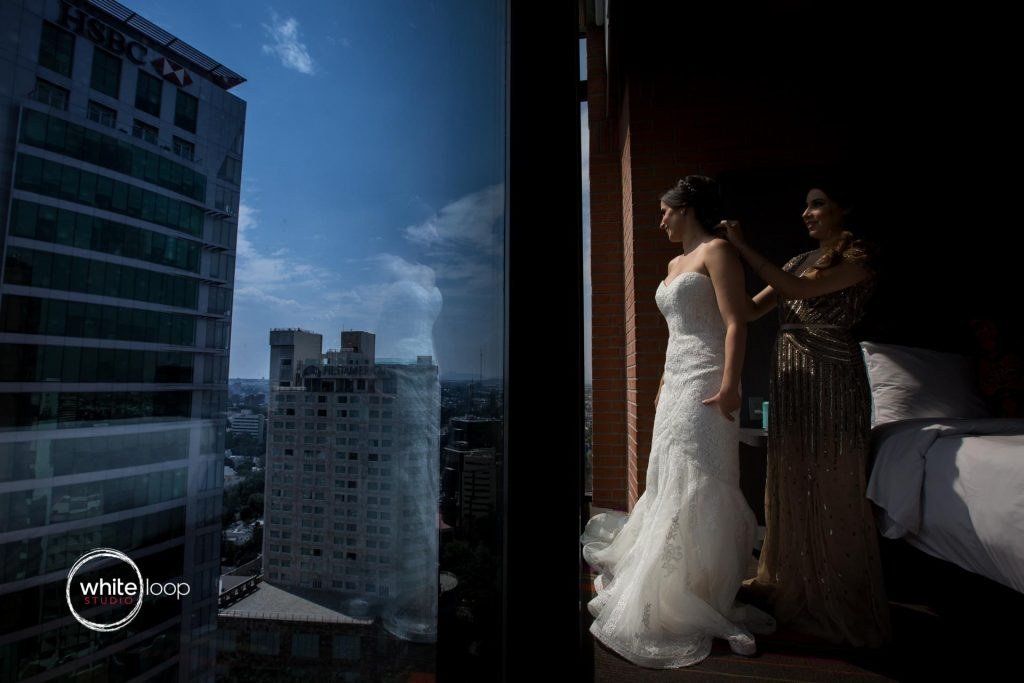 Alizda and Jorge's wedding, Getting ready, Aloft Hotel, Guadalajara