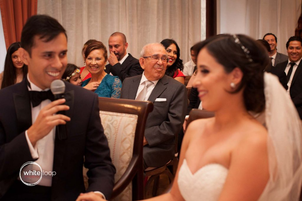Alizda and Jorge's wedding ceremony, Aloft Hotel, Guadalajara