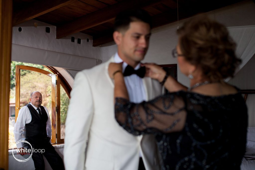 Nickie and Miguel's wedding, Getting ready, Chapala, Monte Coxala
