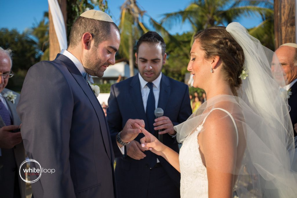 Ariela and Jonathan Jewish wedding ceremony, Nahui, Nayarit, Mexico