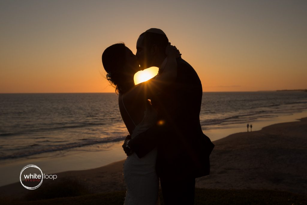 Ariela and Jonathan after the wedding on the beach, Nahui, Nayarit, Mexico