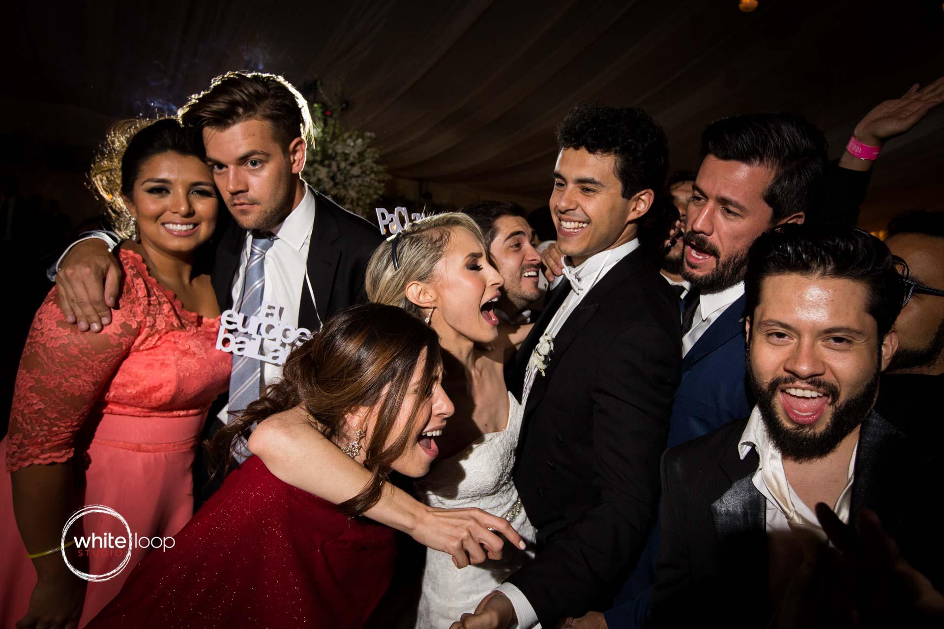 Claudia and Francisco wedding party, Guadalajara, Mexico