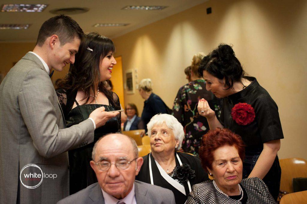 Ilinka and Francesco, Ceremony, Trieste, Italy