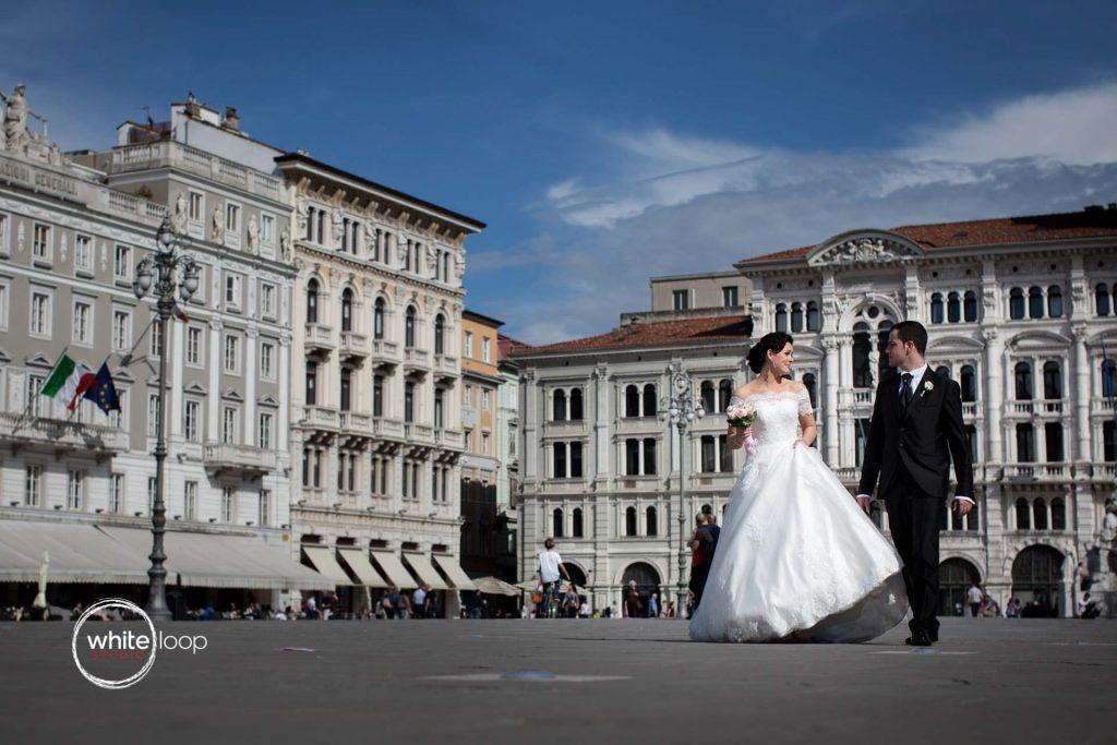 Ilinka and Francesco, Formal, Trieste, Italy