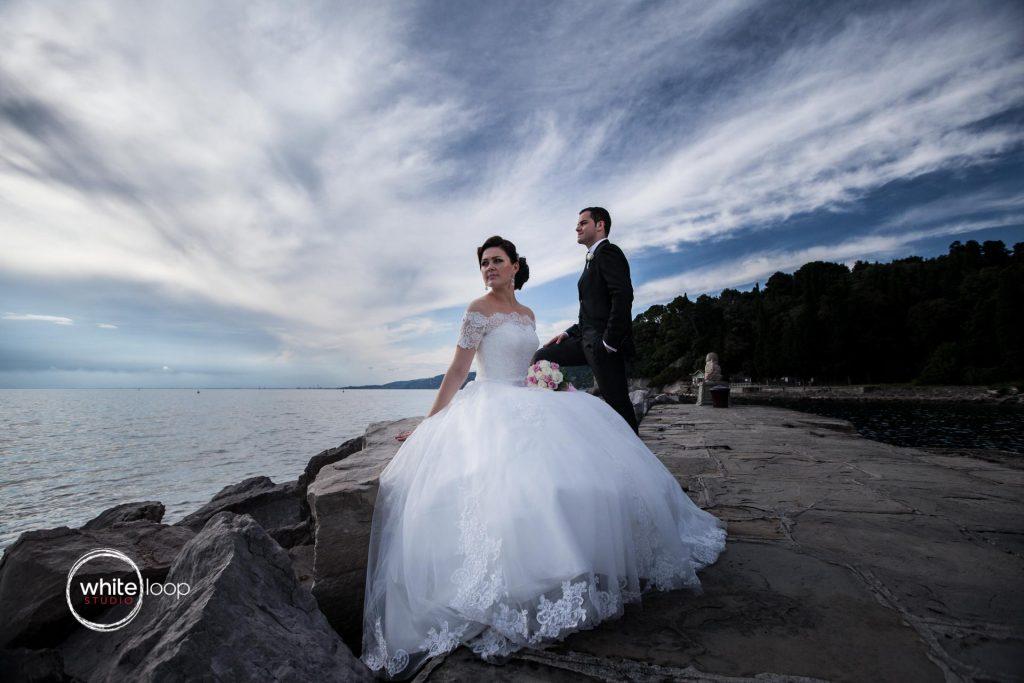 Ilinka and Francesco, Formal, Miramare, Trieste, Italy