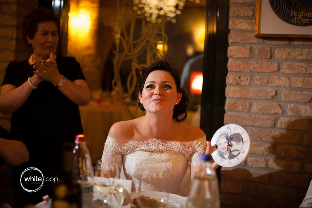 Ilinka and Francesco, Reception, Trieste, Italy