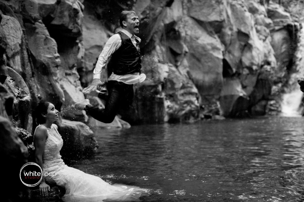Erika and Jan, Trash the Dress, Amatlan de Cañas, Nayarit, Mexico