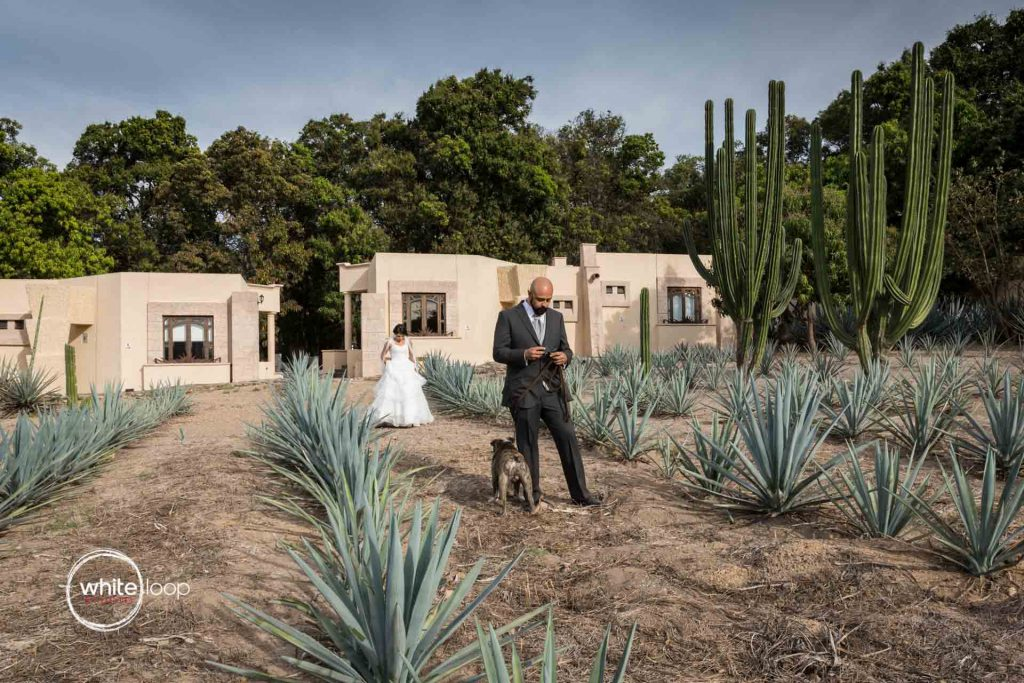 Eugenia and Miguel, Getting Ready, Tequilera La Cofradia, Tequila, Mexico