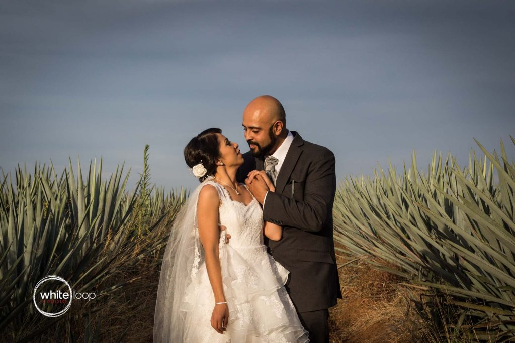 Eugenia and Miguel, Formal, Tequilera La Cofradia, Tequila, Mexico