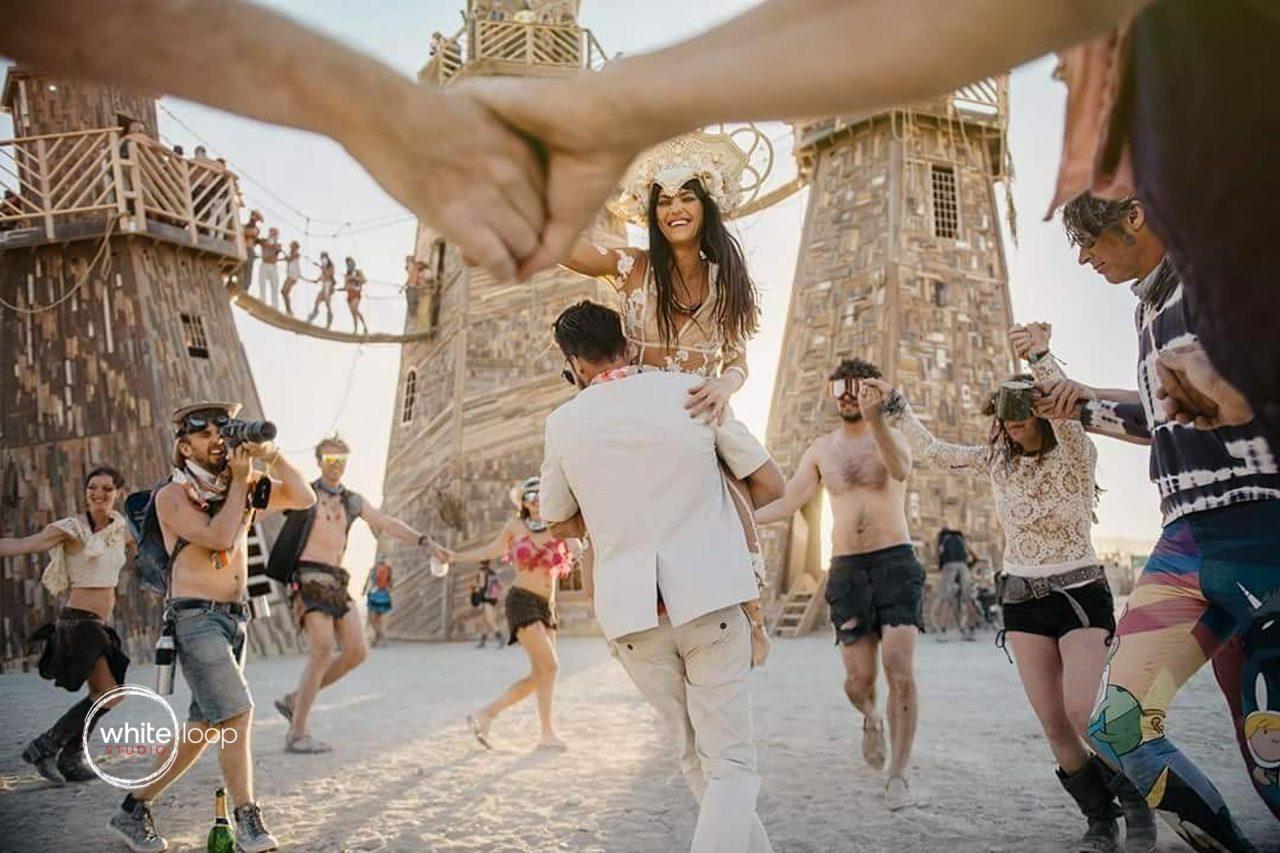 Burning Man, Rock City Nevada Desert 2016