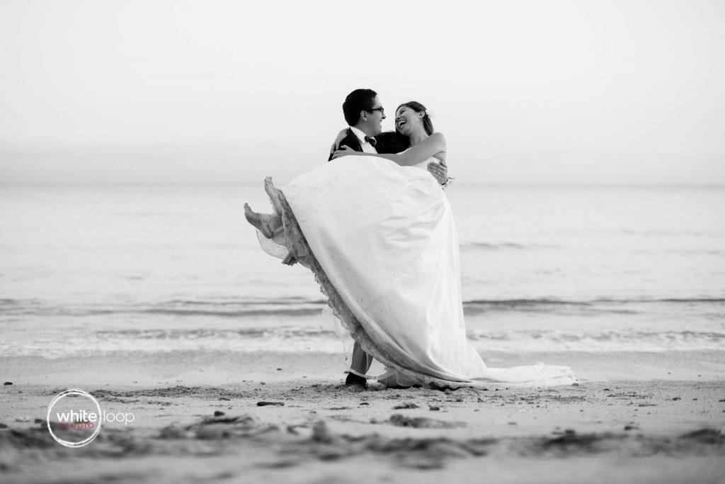 Caro and Jorge, Trash the Dress, Buceria Beach, Mexico