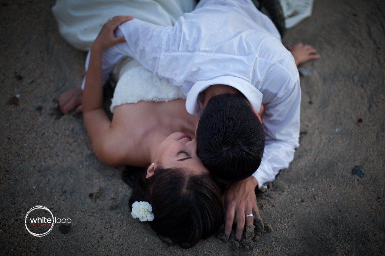 Caro and Jorge, Trash the Dress, Bucerias Beach, Mexico