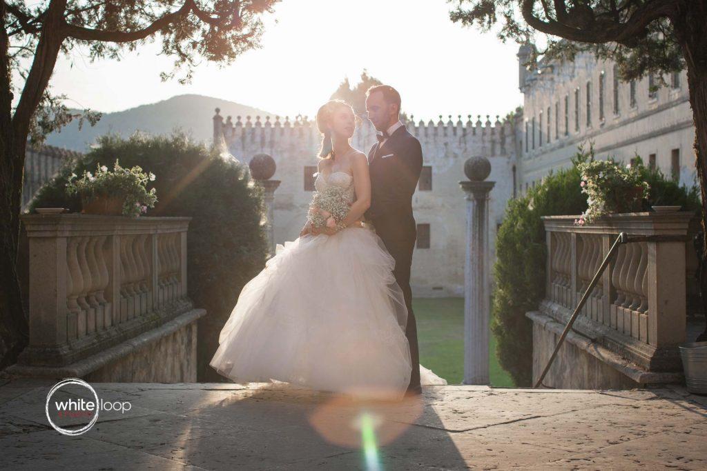 Elena and Andrea, Formal Session, Castello del Catajo, Italy