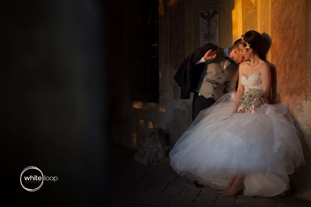 Elena and Andrea, Formal Session, Castello del Catajo, Italy