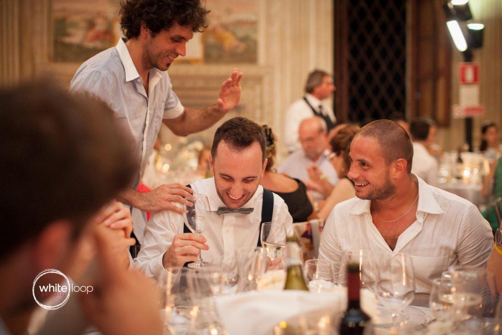 Elena and Andrea, Reception, Castello del Catajo, Italy
