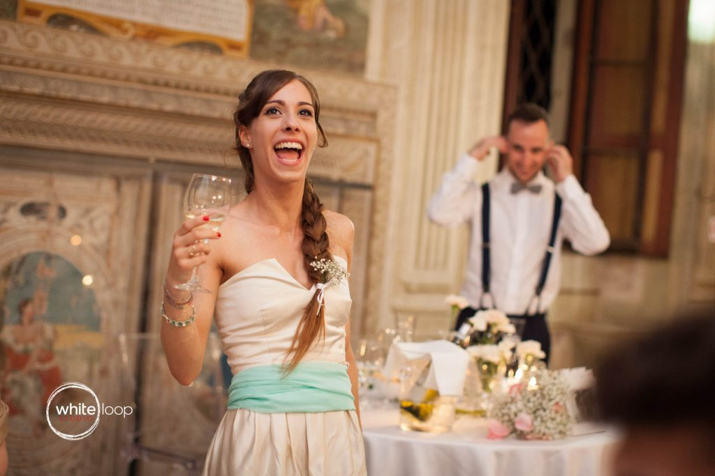 Elena and Andrea, Reception, Castello del Catajo, Italy
