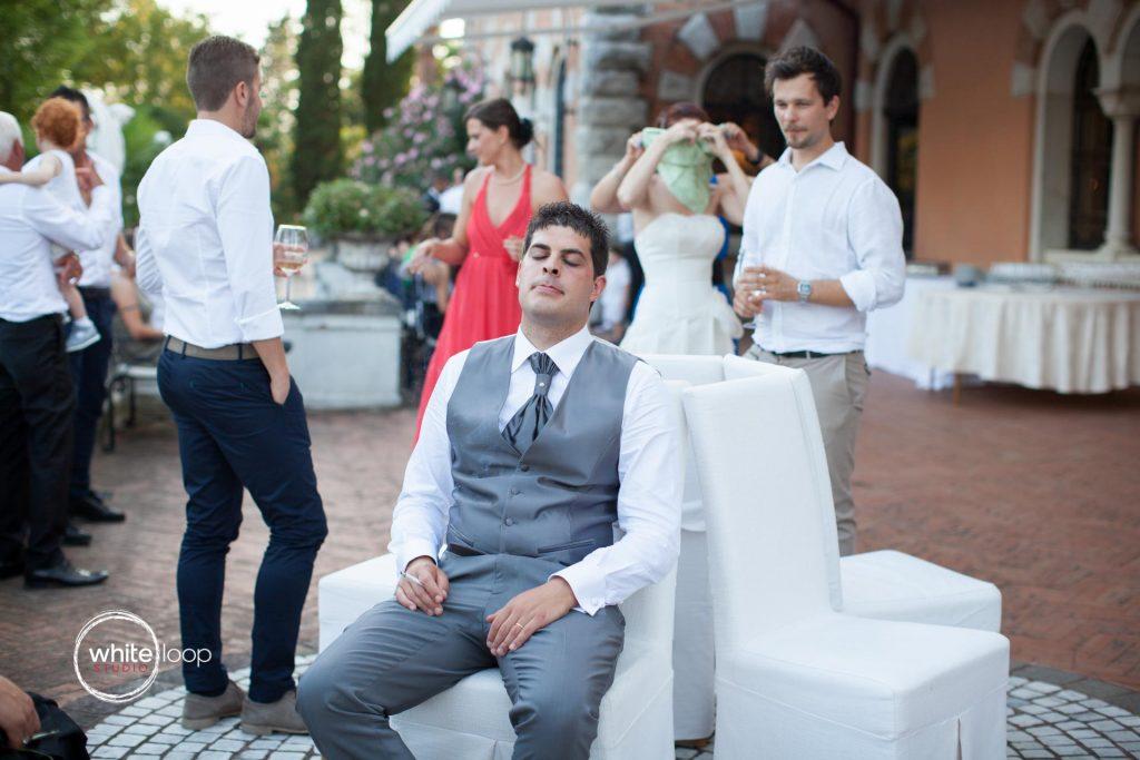 Erika and Claudio, Reception, Spessa Castle, Gorizia, Italy