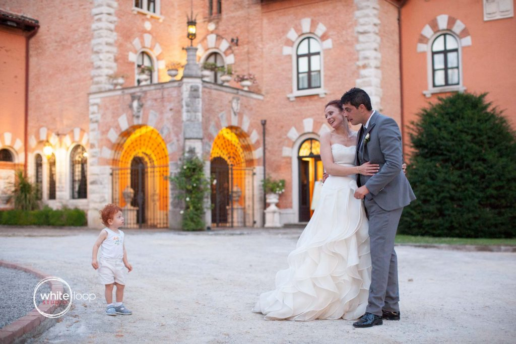 Erika and Claudio, Reception, Spessa Castle, Gorizia, Italy