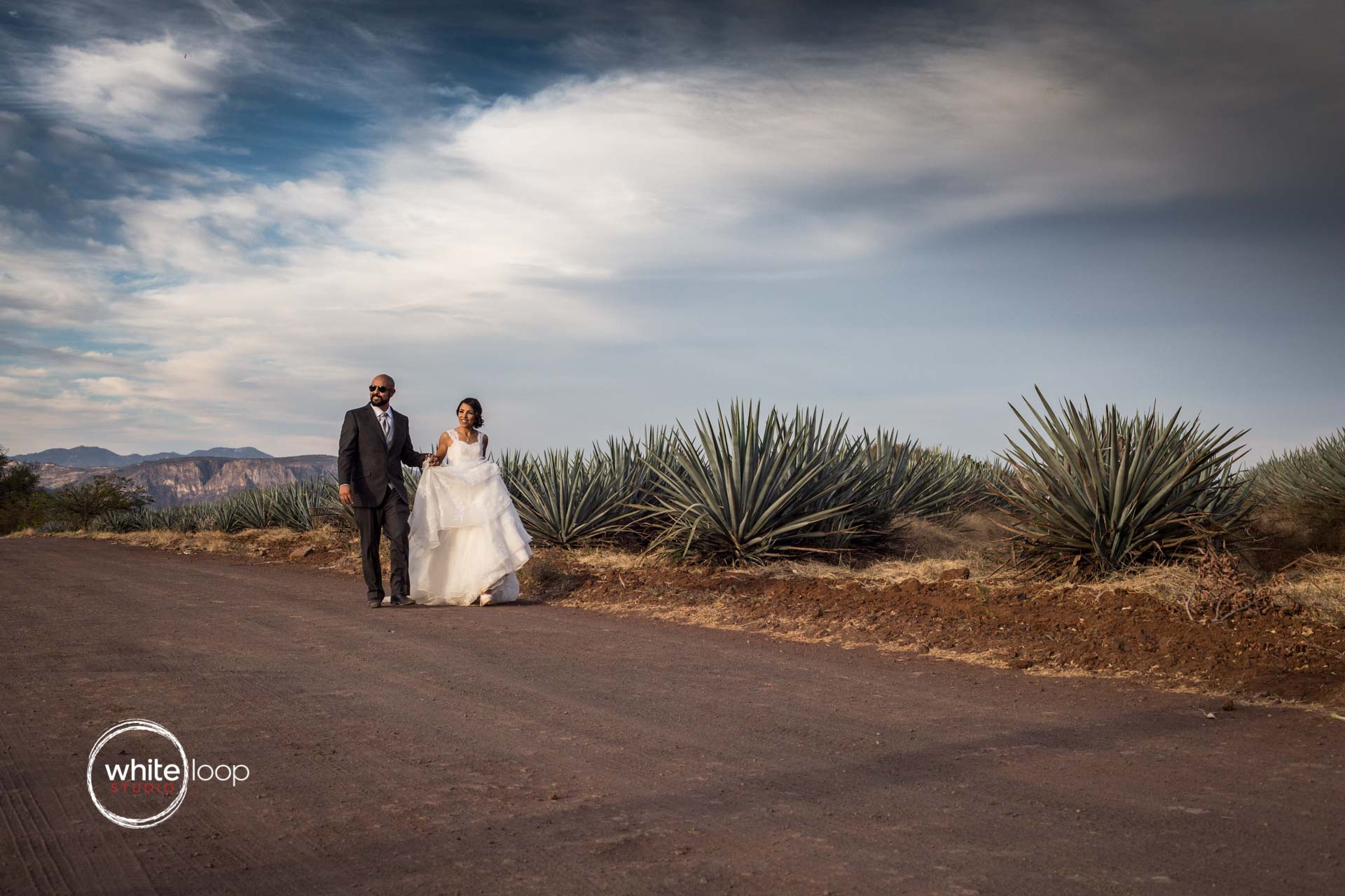 Eugenia and Miguel, Formal Session, Tequila, Mexico
