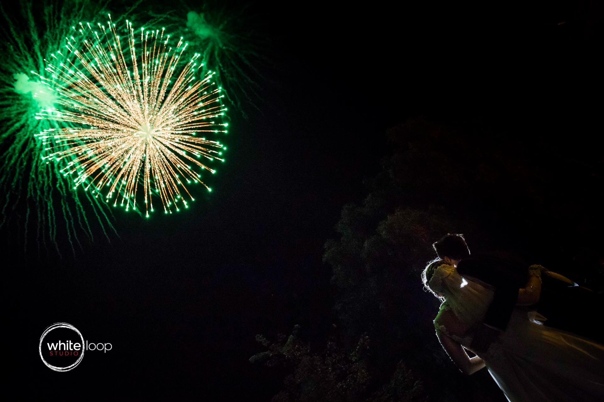 Andrea and Roberto, Fireworks, Hacienda la Magdalena, Guadalajara, Mexico