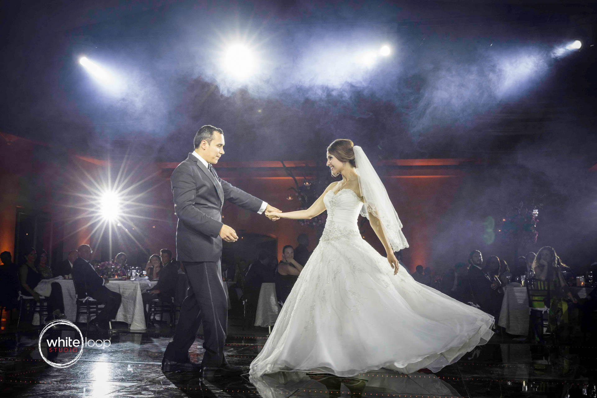 Vanessa and Cesar, First Dance, Bellaterra Salon, Guadalajara, Mexico