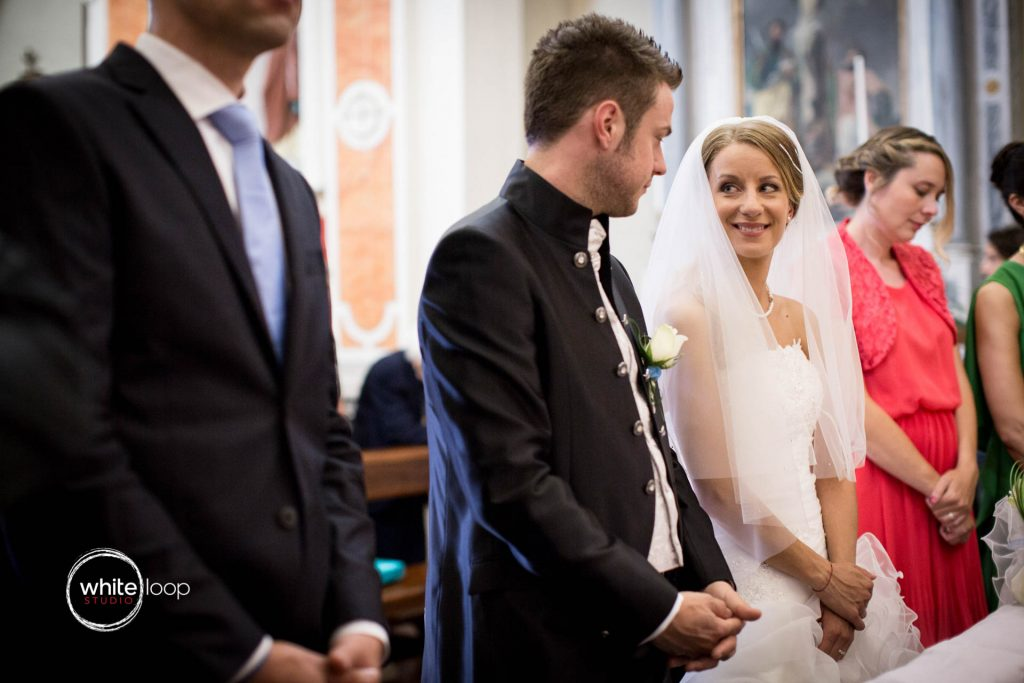 Cristina and Emanuele, Ceremony, Tolmezzo, Italy