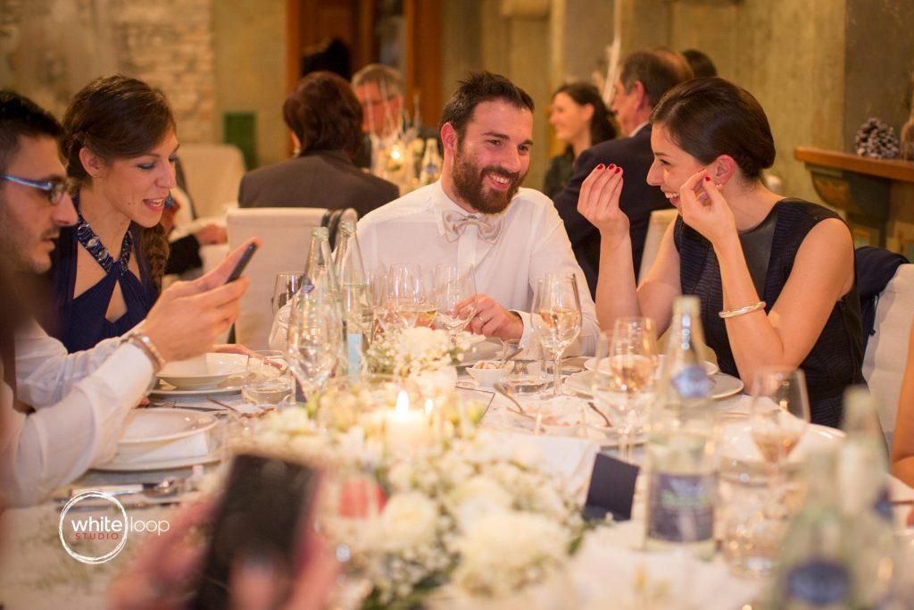 Elena and Manu, Reception, Ristorante Paradiso, Udine, Italy