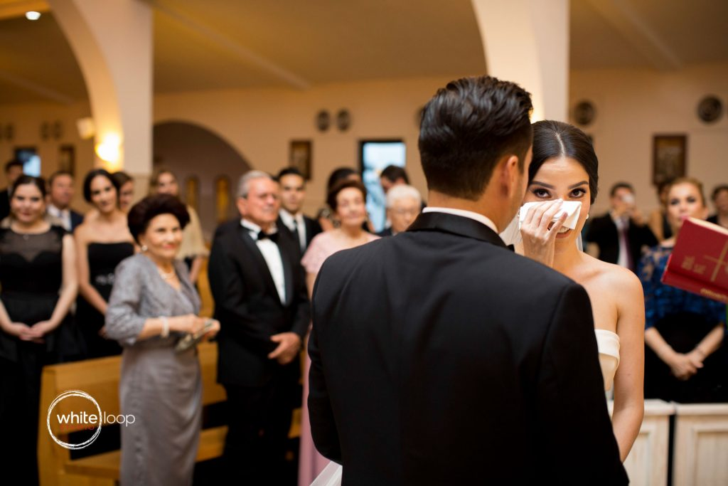 Marisol and Jorge, ceremony, Casa San Juan Macias Church, Guadalajara, Mexico