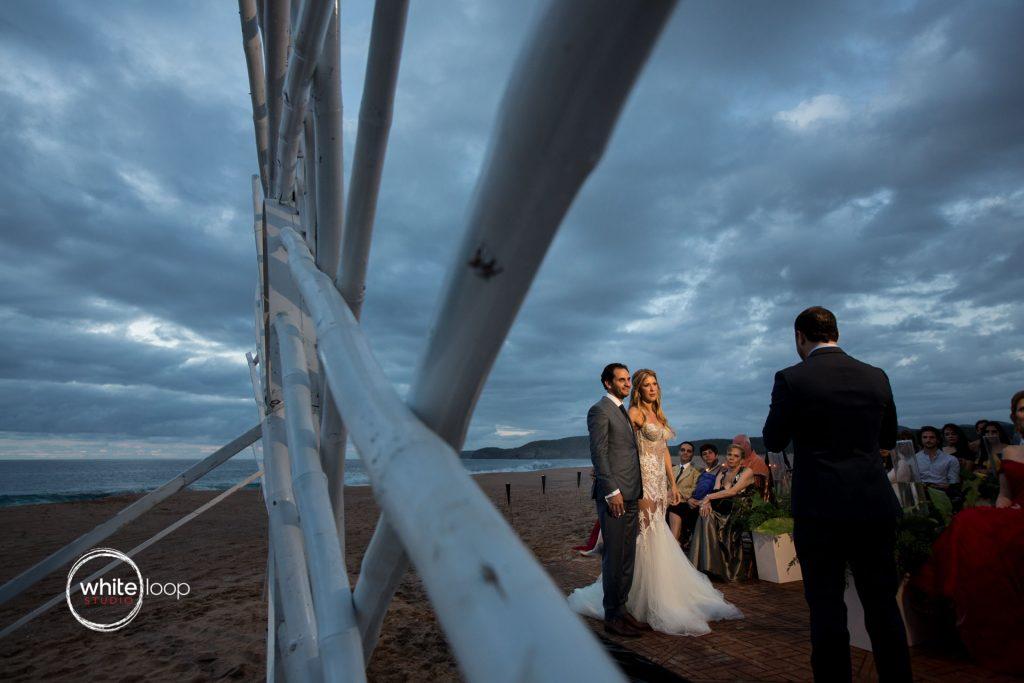 Bibiana and Jack, Wedding in Careyes, Nayarit, Mexico, Ceremony on the beach