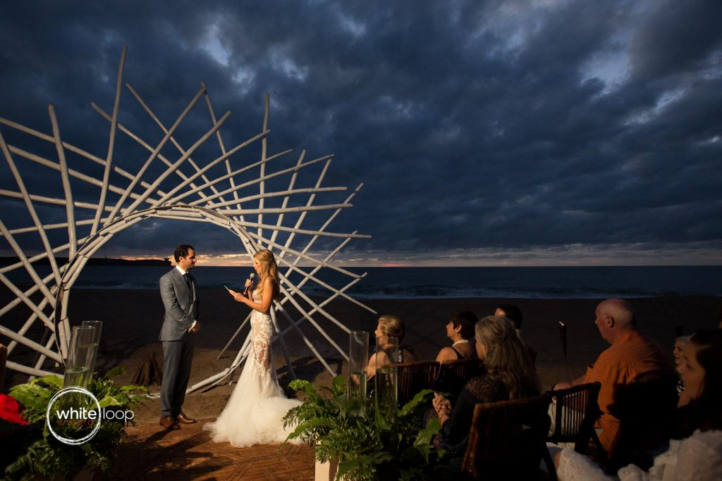 Bibiana and Jack, Wedding in Careyes, Nayarit, Mexico, Ceremony on the beach