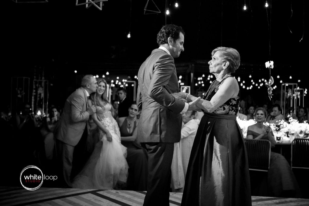 Bibiana and Jack, Wedding in Careyes, Nayarit, Mexico, Reception on the beach, First dance