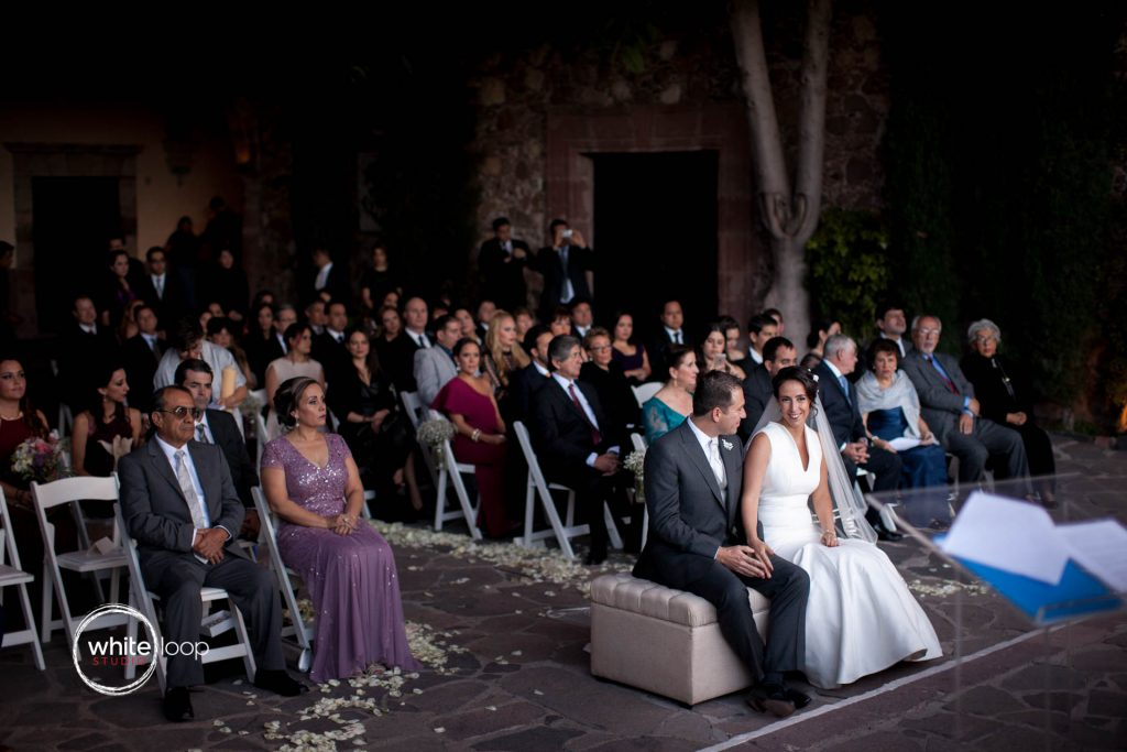 Ana Sofia and Josè Luis, Ceremony, Instituto Allende, San Miguel de Allende, Mexico