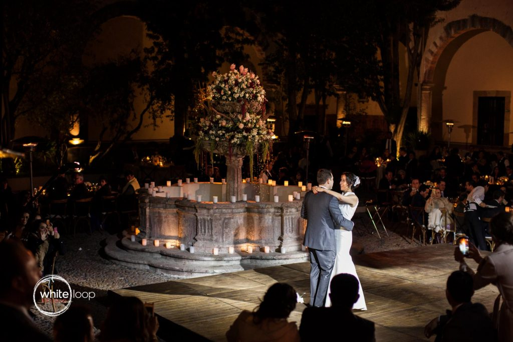 Ana Sofia and Josè Luis, Reception, Instituto Allende, San Miguel de Allende, Mexico