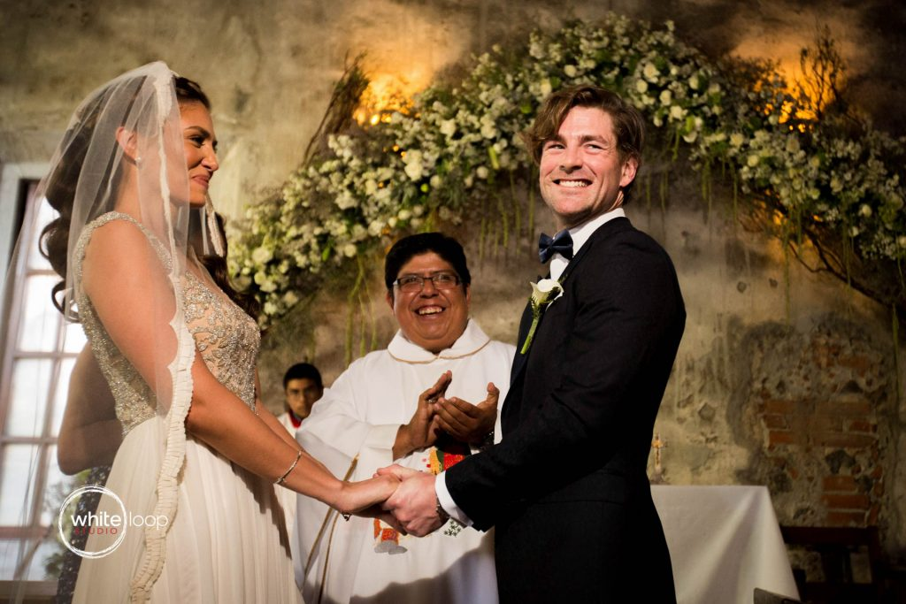 Anna and Louis, Ceremony at Hacienda San Carlos, Yautepec, Morelos, Mexico