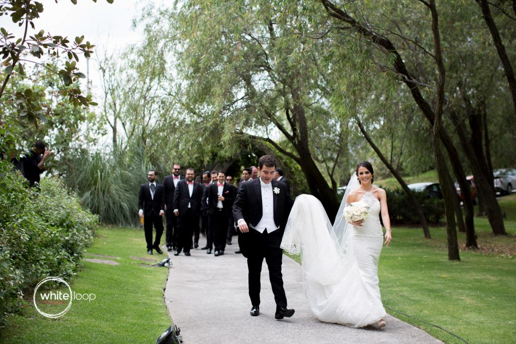Monse and Daniel, First Look, Wedding in La Gotera Eventos, Guadalajara, Mexico