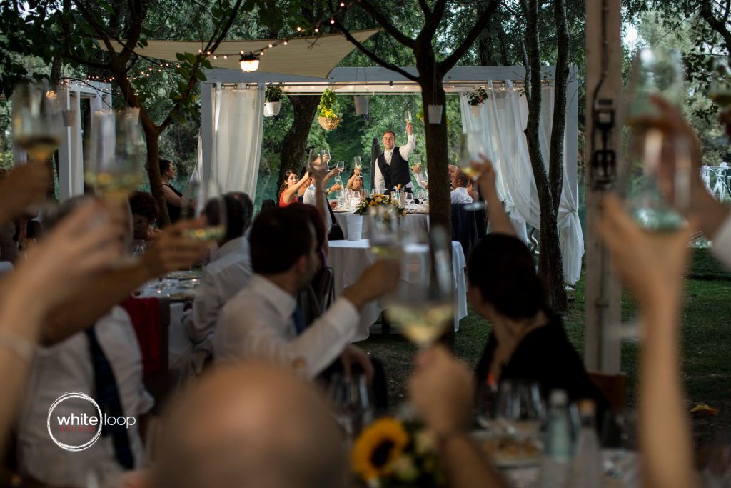 Laura and Giacomo Wedding 2017, Reception, Restaurant Fiume Stella, Italy