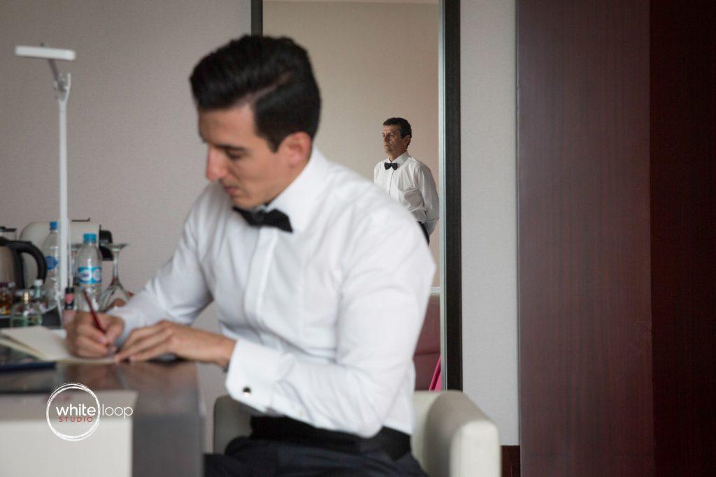 Ale and Agustin Wedding at La Florida Eventos, Getting Ready