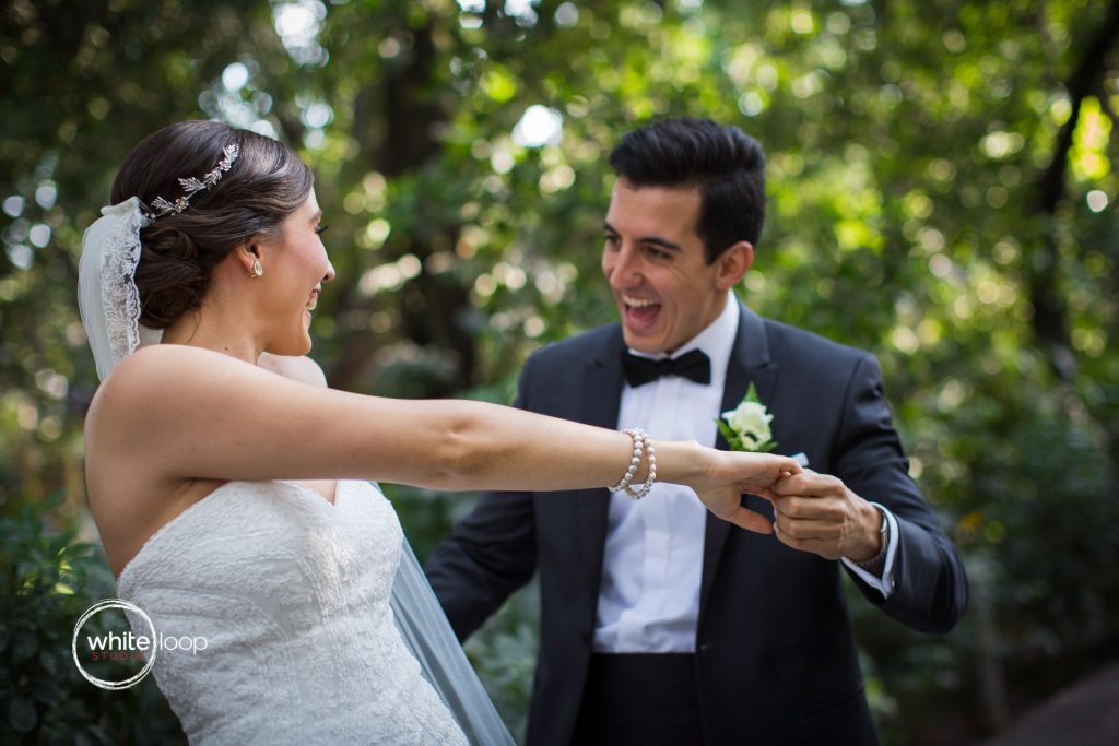 Ale and Agustin Wedding at La Florida Eventos, First Look