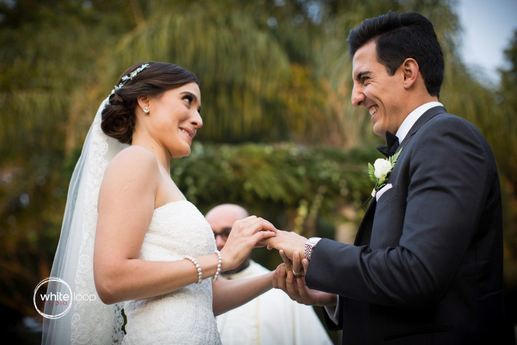 Ale and Agustin Wedding at La Florida Eventos, Ceremony