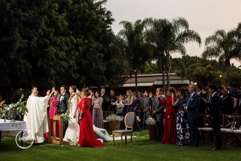 Ale and Agustin Wedding at La Florida Eventos, Ceremony