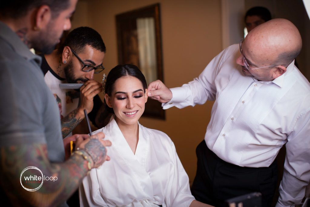 Arantxa and Carlos Wedding in Monclova, Getting ready, Mexico