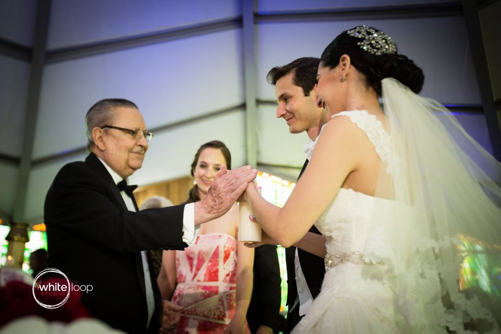 Arantxa and Carlos Wedding in Monclova, The Ceremony, Mexico