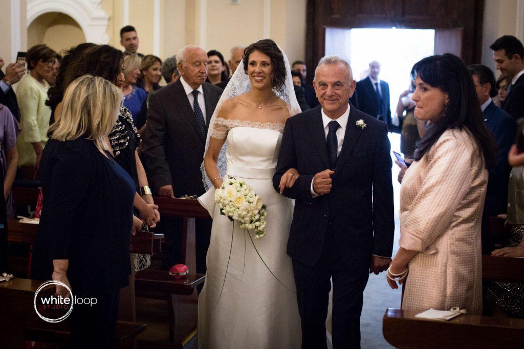 Antonella and Christian Wedding in Sorrento, Ceremony in Sorrento Church