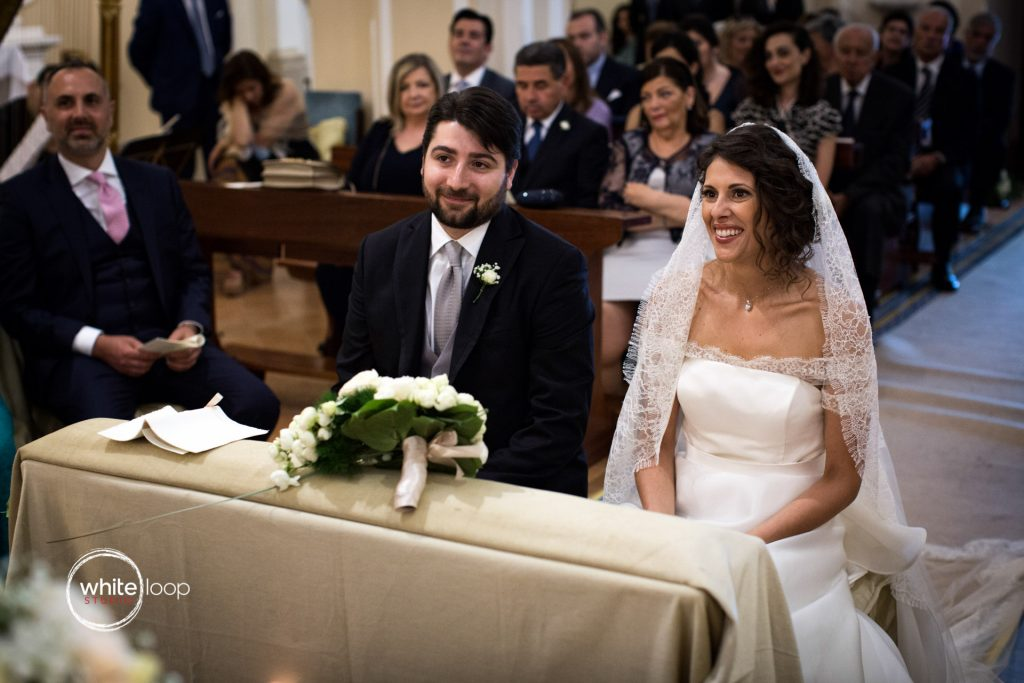 Antonella and Christian Wedding in Sorrento, Ceremony in Sorrento Church