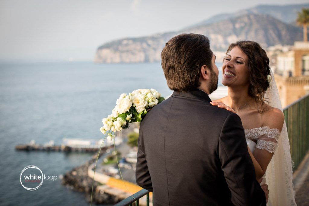 Antonella and Christian Wedding in Sorrento, Formal Session in Sorrento Old Town