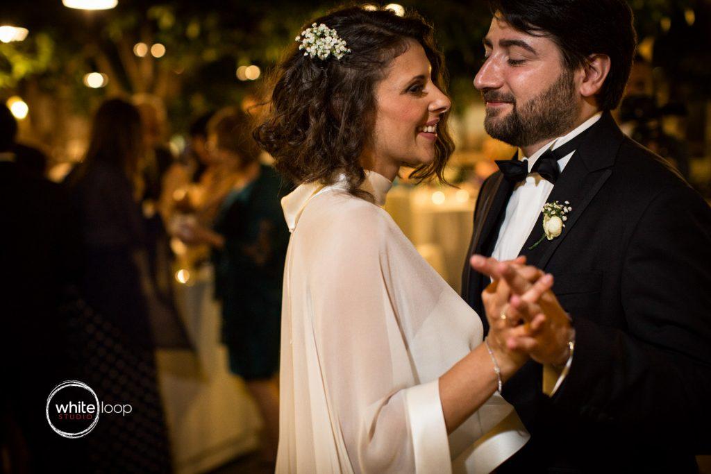 Antonella and Christian Wedding in Sorrento, Reception at Hotel Hilton Palace, Sorrento