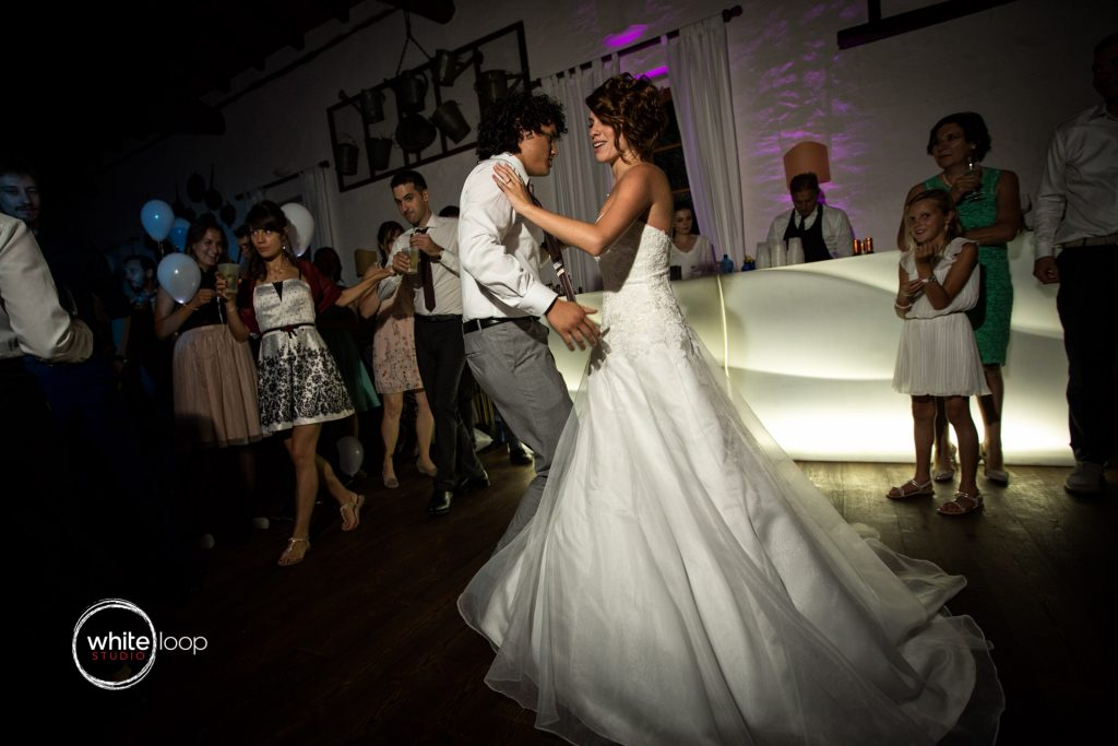 Caterina and Massimo, wedding at Baronesse Tacco, Dance Floor, San Floriano del Collio, Italy