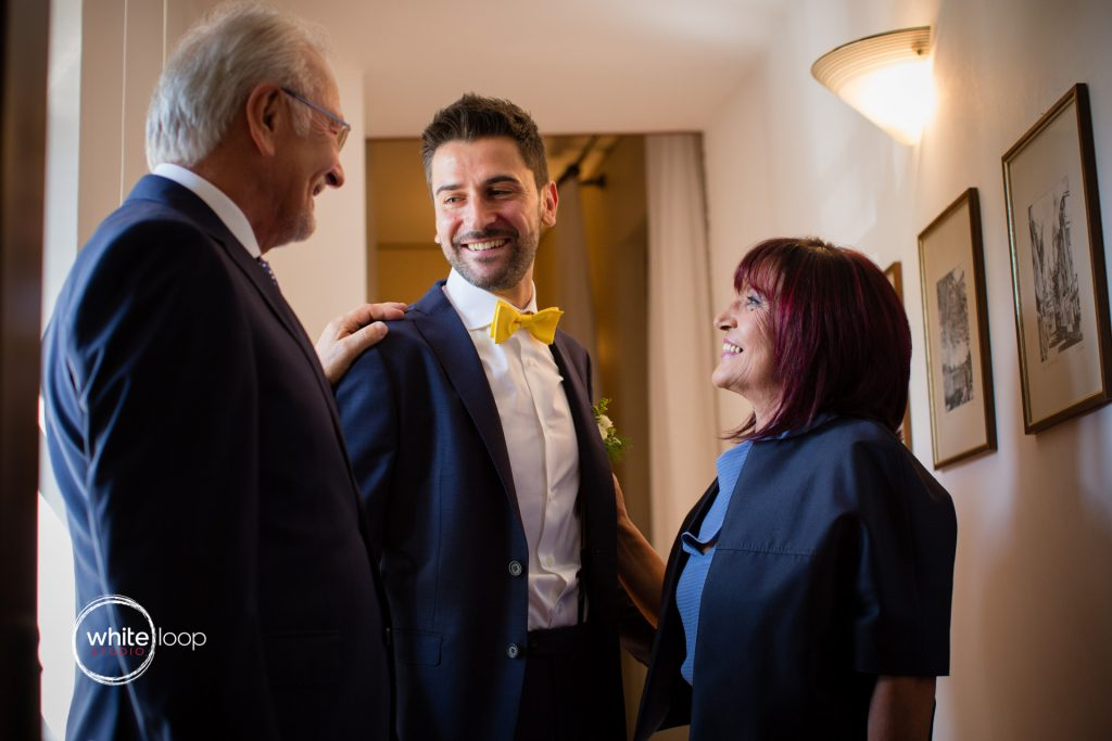 Silvia and Emanuele Wedding in Italy, Getting ready by Davide Cristin