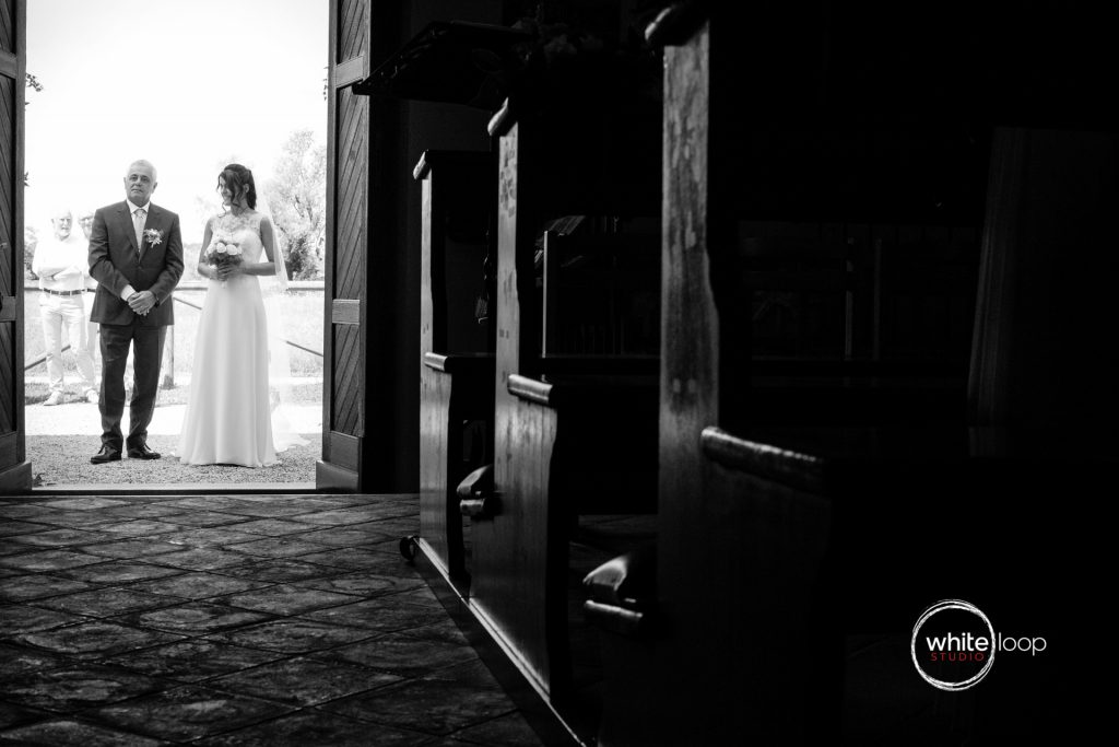 Silvia and Emanuele Wedding in Italy, Ceremony at Santa Maria dei Popoli, Preval by Alina Zardo